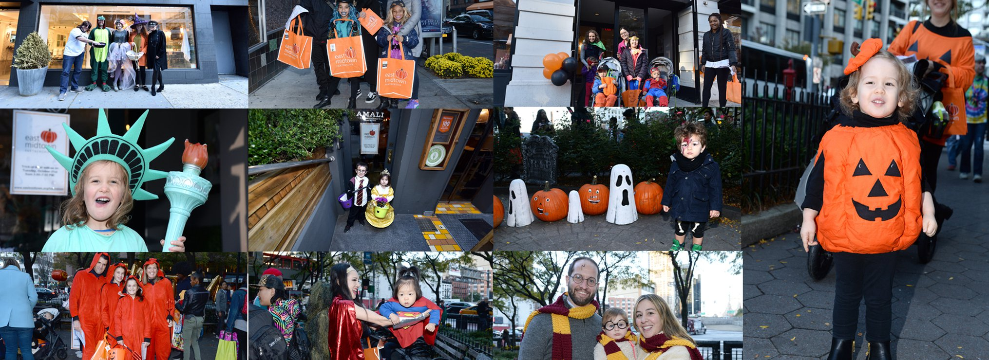 Photos from Trick-or-Treat with East Midtown!